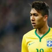 Roberto Firmino marcou o único gol brasileiro no amistoso de quarta-feira, contra Honduras - Foto: mercadofutebol