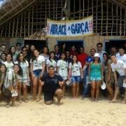 Movimento Abrace a Garça luta contra a especulação imobiliária no Litoral Norte de Alagoas (Foto: divulgação)