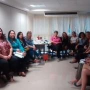 Participantes da oficina técnica desenvolvida pelo Departamento Penitenciário Nacional (Depen), em Brasília