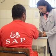 Diretoria de Saúde fez mutirão. (Foto: Ascom SAP)