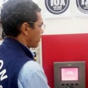 Fiscalização do Procon em supermercados e lojas sobre leitores ópticos teve início semana passada e continuou nesta segunda-feira (27) (Foto Ascom)