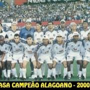 Seleção do ASA campeã em 2000 (Foto: Divulgação)