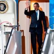 Obama desembarca em NairóbiAgência Lusa/EPA/Daniel Irungu//Direitos Reservados
