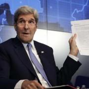O secretário de Estado,  John Kerry, é o primeiro chefe da diplomacia norte-americana a visitar Cuba em 70 anos (Andrew Gombert/Lusa)
