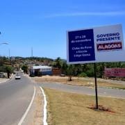 Ações do Governo Presente beneficiarão moradores de Coruripe e toda a Região Sul do Estado, nesta sexta-feira e sábado  (Foto: Thiago Sampaio)