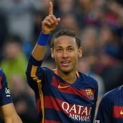 © Getty Images Espanhol 2015/16 barcelona real sociedad Suarez Neymar Messi