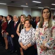 Autoridades presentes a abertura da Bienal -  Foto: Márcio Ferreira