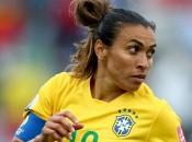 Marta: 98 gols pela seleção brasileira; nem Pelé conseguiu (GETTY IMAGES)