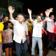 Renan começou o dia de campanha ao lado de Olavo Neto em Murici
