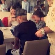 Neymar e Bruna Marquezine em Barcelona (Foto: Reprodução/Instagram)
