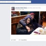 Marcos Nogueira, Janaína Américo e os dois filhos do casal foram encontrados mortos na Espanha (Foto: Reprodução/Facebook/Janaina Diniz Diniz)