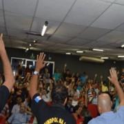 Policiais civis fazem mobilização nesta terça-feira para antecipar piso salarial.