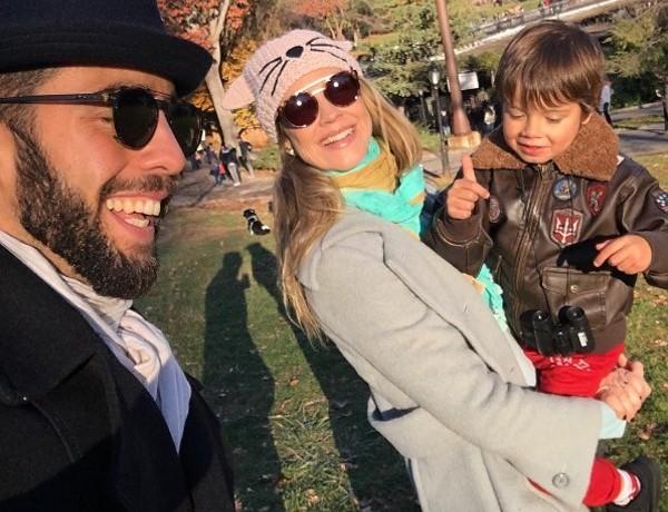 Pedro Scooby, Dom e Luana Piovani (Foto: Reprodução / Instagram)