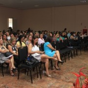 Professor João Luiz Horta palestra sobre 'As Avaliações externas e internas o Ideb'(Fotos: Valdir Rocha)