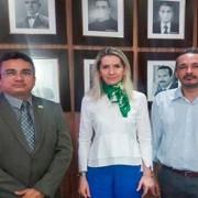 Rosa Albuquerque garante apoio do Tribunal de Contas a evento promovido pela GCU (Foto: Assessoria)