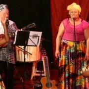 Grupo Thembá se destaca com composições do estilo afro, com influências da música celta. (Fotos: Ascom/Secult)