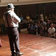 Peça lotou o Teatro Deodoro, ao levar ao público trechos da vida e obra de Graciliano Ramos. Cadu Ávila/Ascom Secult