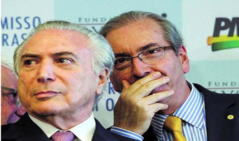 Temer pode estar envolvido em esquema de corrupção, segundo o ex-deputado Eduardo Cunha (Foto: Brasil 247)