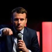 Centrista Emmanuel Macron