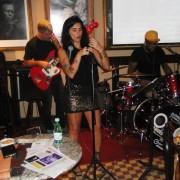 Andrea e Power Trio palco