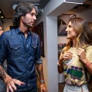 Andre Diniz com Carola Diniz-