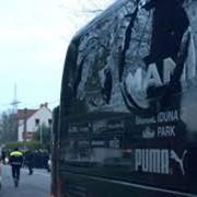 Houve uma explosão no ônibus do clube no hotel em que a delegação estava hospedada (Foto: yahooesportes)