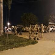Operação foi deflagrada na madruga desta terça, por policiais de Alagoas e Pernambuco (Foto: Ascom/SP)