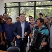 Governador Renan Filho tem dado amplo apoio às festas juninas na capital alagoana. Márcio Ferreira