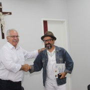 Clebio e Teofilo firmam parceria
