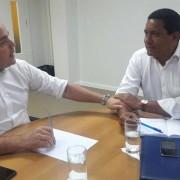 Renan Filho e Julio Cezar: parceria por Palmeira dos Índios