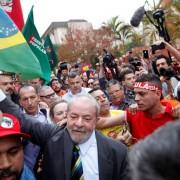 Lula venceria no primeiro turno em todos os cenários, segundo a pesquisa Foto: Reuters