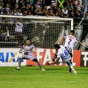 Goleiro do ASA, Carlão fez boas defesas no clássico (Foto: Ailton Cruz/Gazeta de Alagoas)