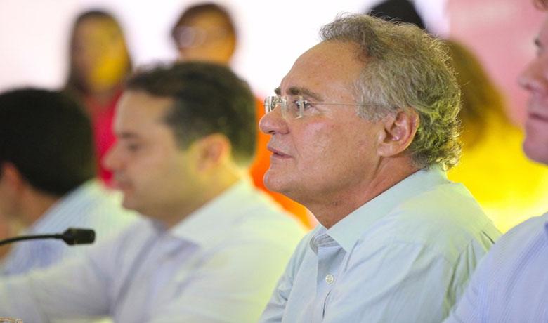 Senador Renan Calheiros estará presenta na reunião da AMA da próxima segunda-feira (Foto: 7 segundos)