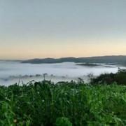 Madrugada desta sexta-feira (14) em Maceió e em alguns municípios do interior, como Quebrangulo (foto) chamou a atenção devido ao intenso frio. Ascom
