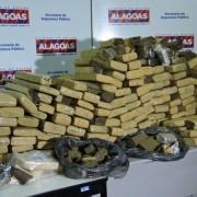 maior ação ocorreu nesta segunda-feira e resultou na apreensão de 192 kg de maconha, 1,5 kg de crack e 200 gramas de cocaína, além de um revólver calibre 38(Fotos: Ascom/SSP)