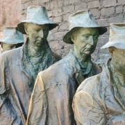 escultura trabalhadores