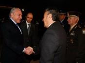 Temer é recepcionado ao chegar em Mendoza, na Argentina, para a reunião do Mercosul. Alan Santos/PR