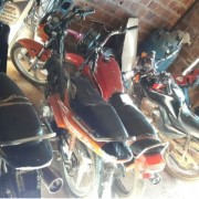Motos foram apreendidas durante as ações policiais (Foto: Divulgação/Polícia Civil)