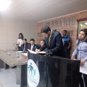 Carlos Sérgio Marques (PRTB) tomou posse na prefeitura de Maribondo (Foto: Divulgação/Assessoria )