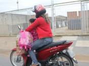 Condutores são flagrados descumprindo a legislação de trânsito em Arapiraca)(Fotos: Ascom/Detran-AL)