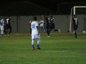 Lobão comemora o gol do CSA no primeiro tempo (Foto: Wenner Tito/GloboEsporte.com )