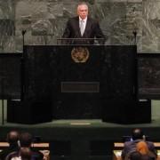 Nova York - Presidente Michel Temer faz o discurso de abertura da 72ª Assembleia Geral da Organização das Nações Unidas (ONU) Beto Barata/PR