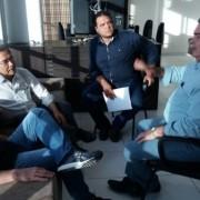 Em União dos Palmares e Murici, Vasconcelos e Rêgo também se reuniram com os prefeitos Kil Freitas e Olavo Neto para discutir a instalação dos escritórios da Emater.  Ronaldo Lima