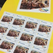 Durante a cerimônia, haverá o ato de obliteração, o primeiro carimbo do selo comemorativo em ato do governador Renan Filho. Divulgação