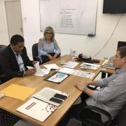 Na ocasião, o prefeito Júlio, a secretária Cléia Carvalho e o secretário Arthur Albuquerque assinaram um Termo de Compromisso que confirma a parceria entre a prefeitura e o órgão estadual