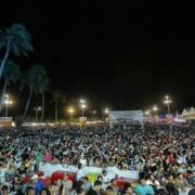 Festa que reuniu cerca de 50 mil pessoas por noite. Foto: Marcio Ferreira