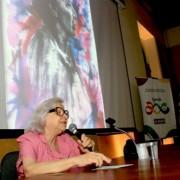 Luitgarde Barros palestrou e compartilhou com público as histórias e memórias de Nise da Silveira      (ftoo Adailson Calheiros)