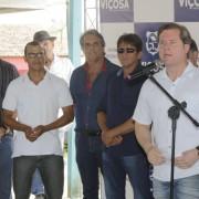 Acesso ao assentamento e linha de crédito estão entre os benefícios aos assentados levados por Marx ao município