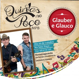 Quintas no Poço será ao som do sertanejo universitário