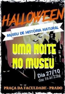 Uma noite no Museu: MHN realiza Halloween regionalizado